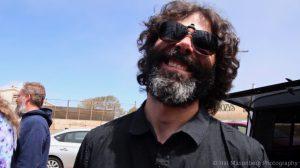 Garret Deloian of Jerry's Middle Finger, Skull & Roses Festival 2, April 7, 2018, Ventura, CA.