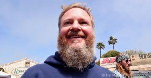 Rodney Newman. of Jerry's Middle Finger, Skull & Roses Festival 2, April 7, 2018, Ventura, CA.