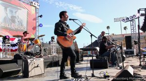 "Dan ""Lebo"" Lebowitz, w/ Roosevelt Collier, Skull & Roses 2, Ventura, CA. April 7, 2018"